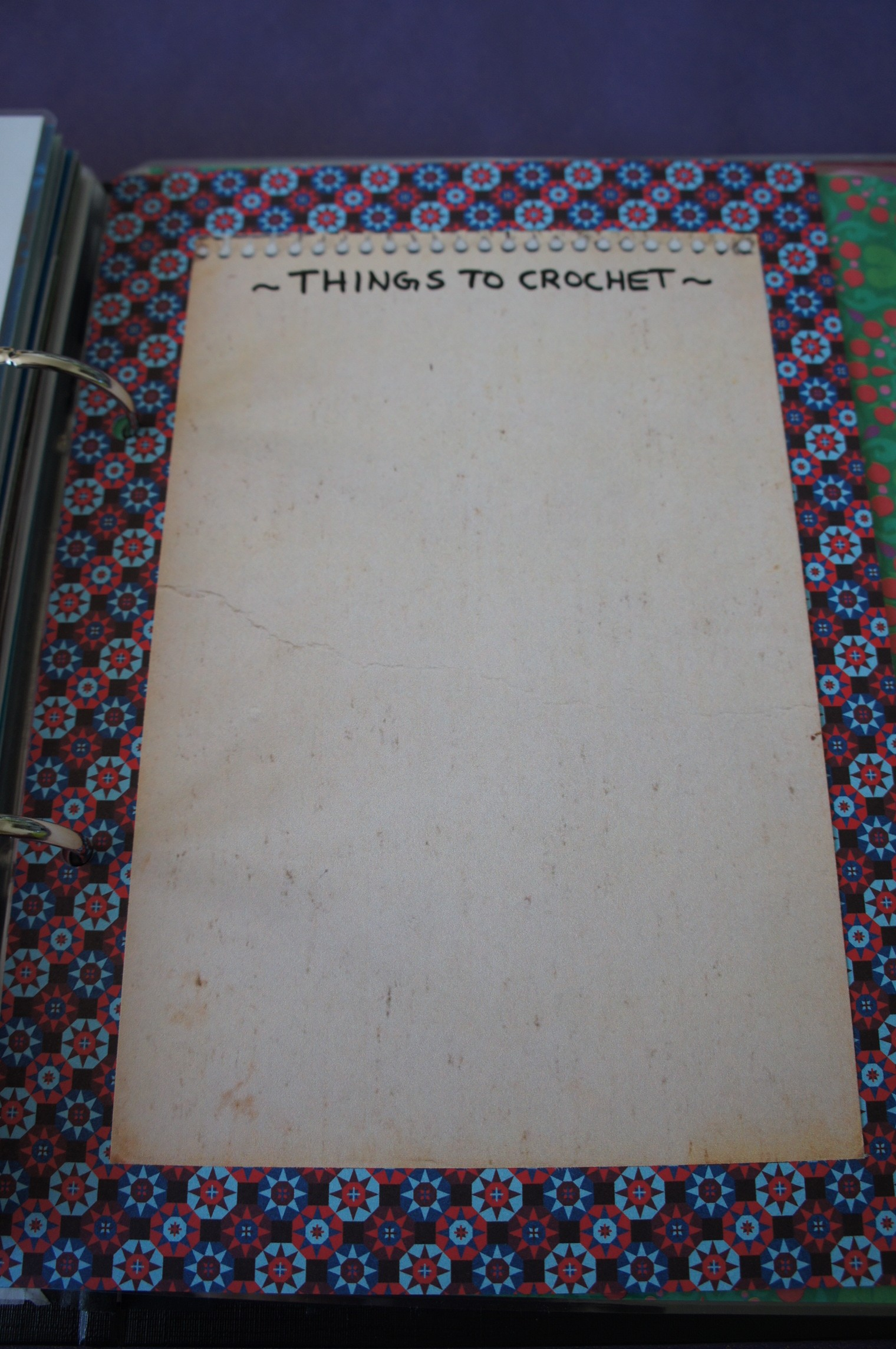 Things to Crochet (einzeln)