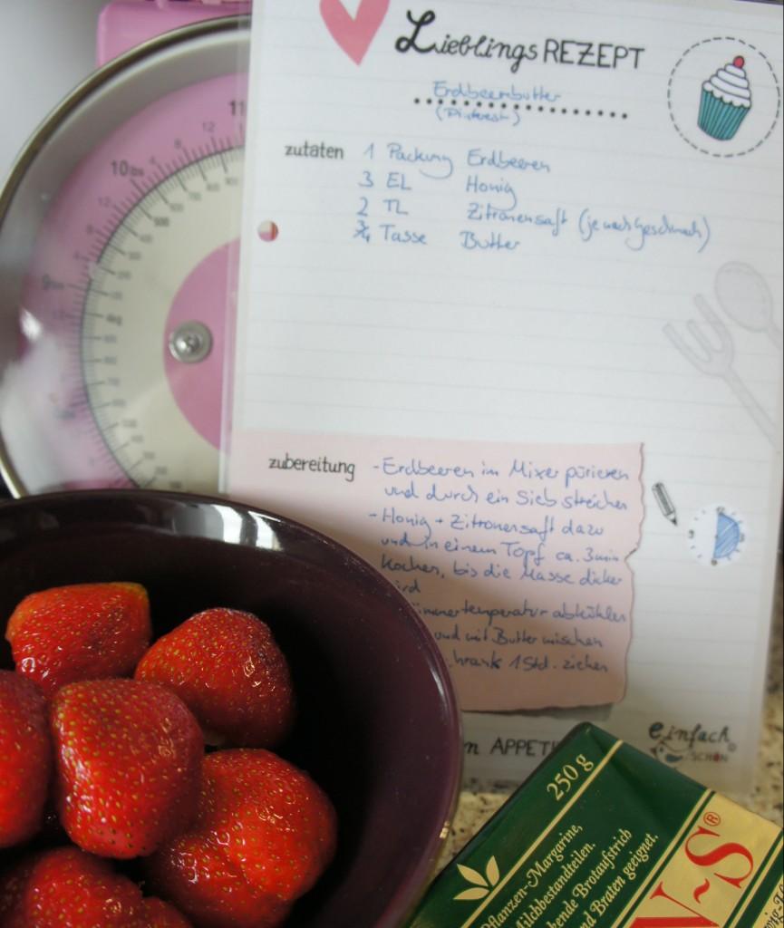 Erdbeerbutterrezept