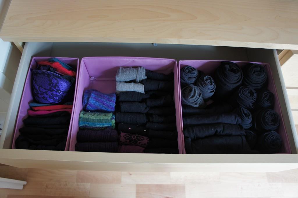 Unterwäsche Socken nachher