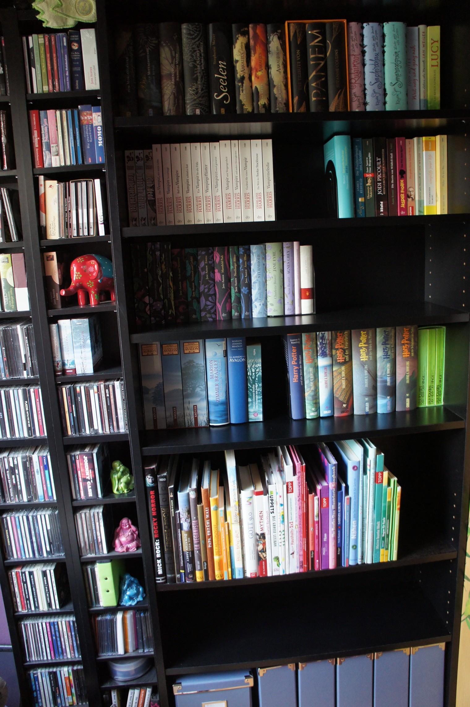 Bücherregal (nachher) 2