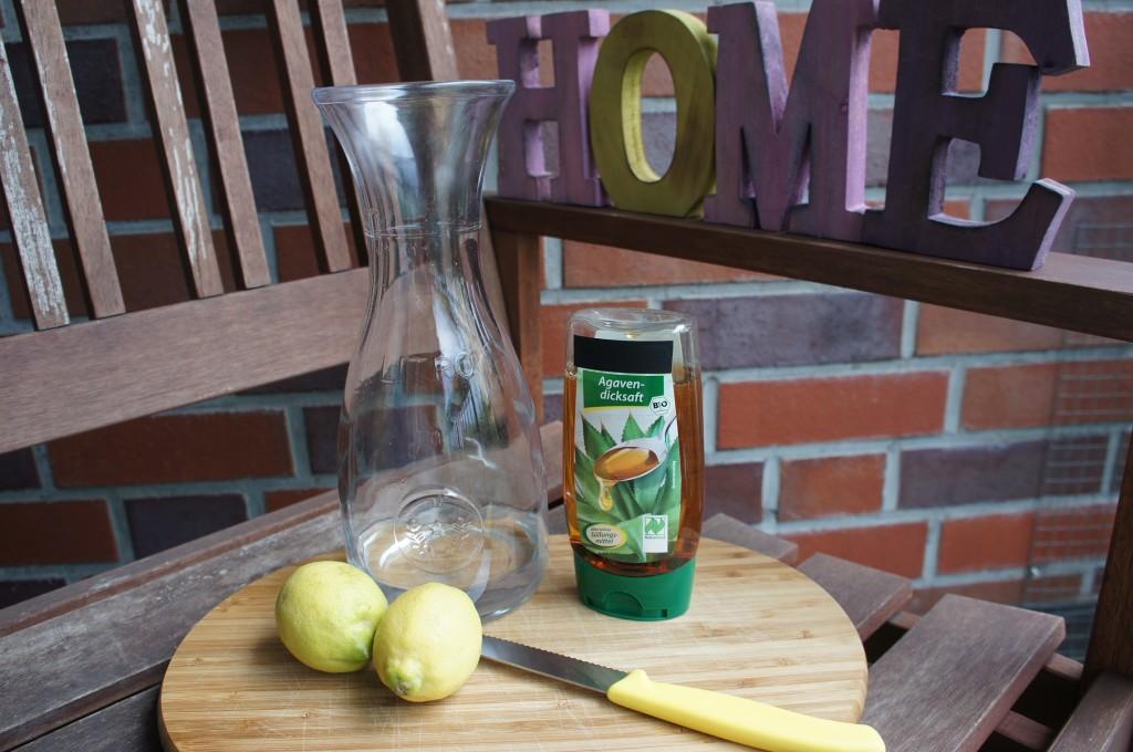 Zutaten Zitronenlimonade