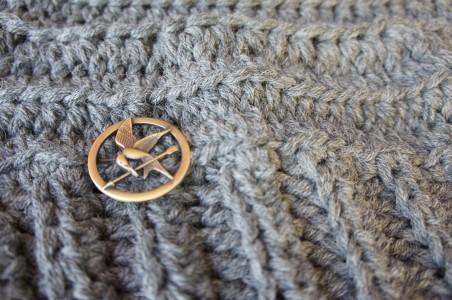 Katniss Cowl Detail