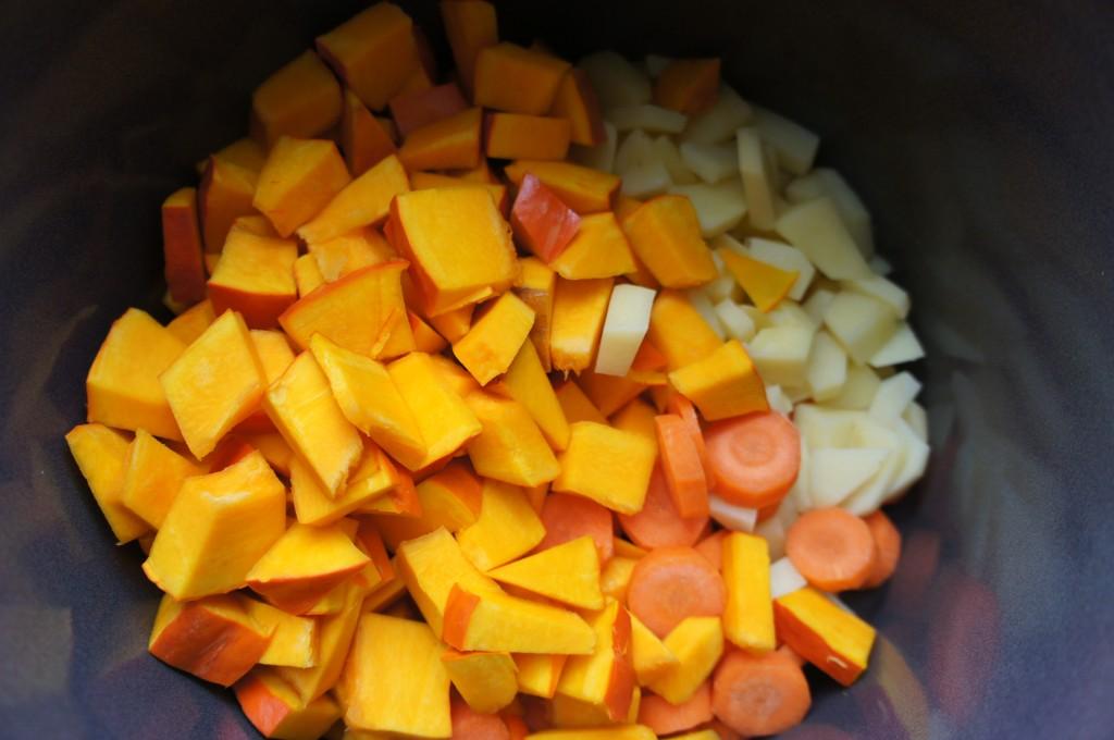 Kürbissuppe Gemüse