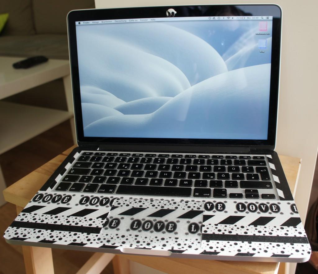 Laptop zu