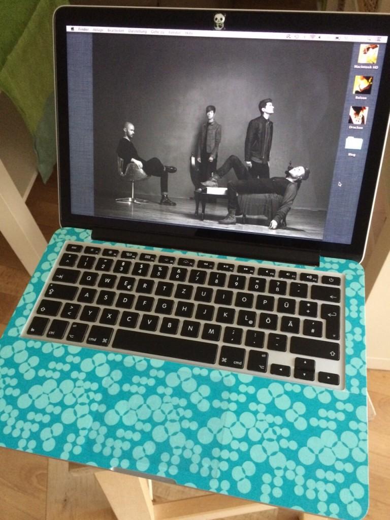 Laptop türkis